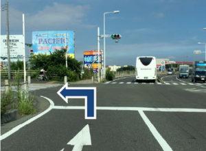 平塚方面から、トラスコ湘南大橋渡り