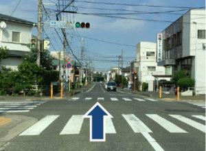 柳島一丁目信号