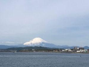 湘南の海と富士山